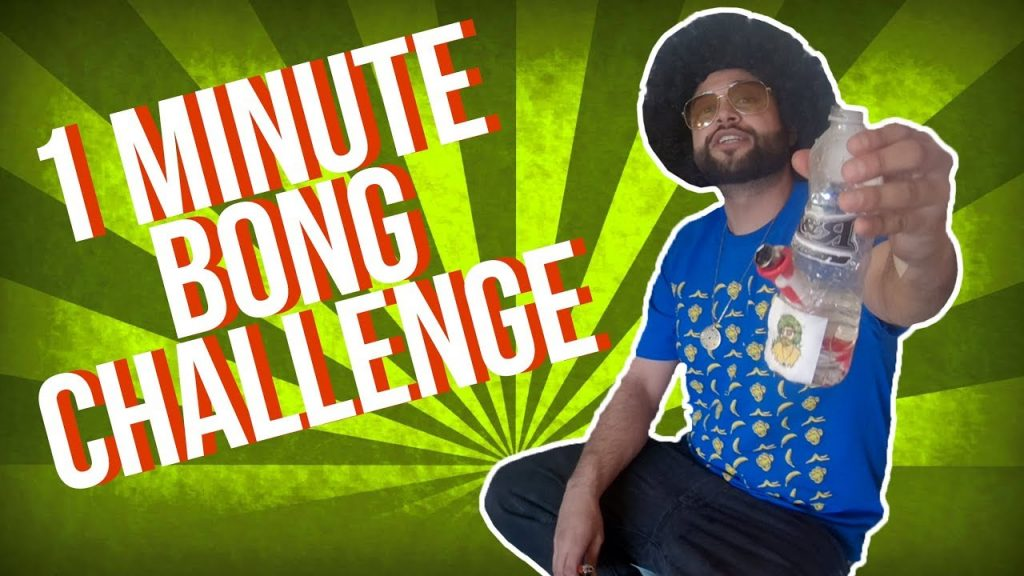 One Minute Bong Challenge